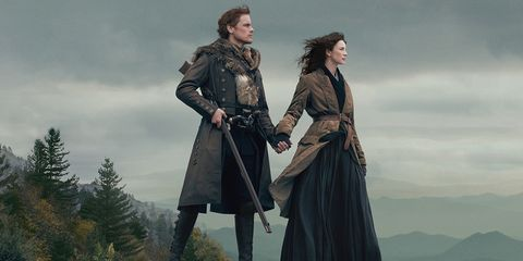 outlander season 4 has a release date new poster and behind the