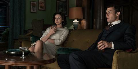 Sitting, Conversation, Interaction, Fun, Room, Formal wear, Suit, Furniture,