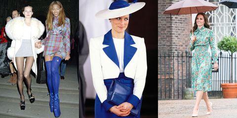 Clothing, Blue, Street fashion, Hat, Fashion, Outerwear, Cobalt blue, Blazer, Suit, Formal wear,