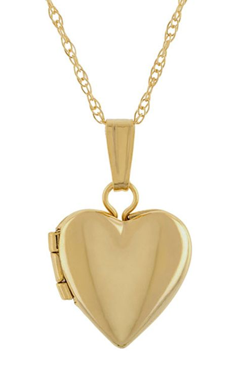 Jewellery, Pendant, Locket, Necklace, Fashion accessory, Yellow, Body jewelry, Chain, Heart, Gold,