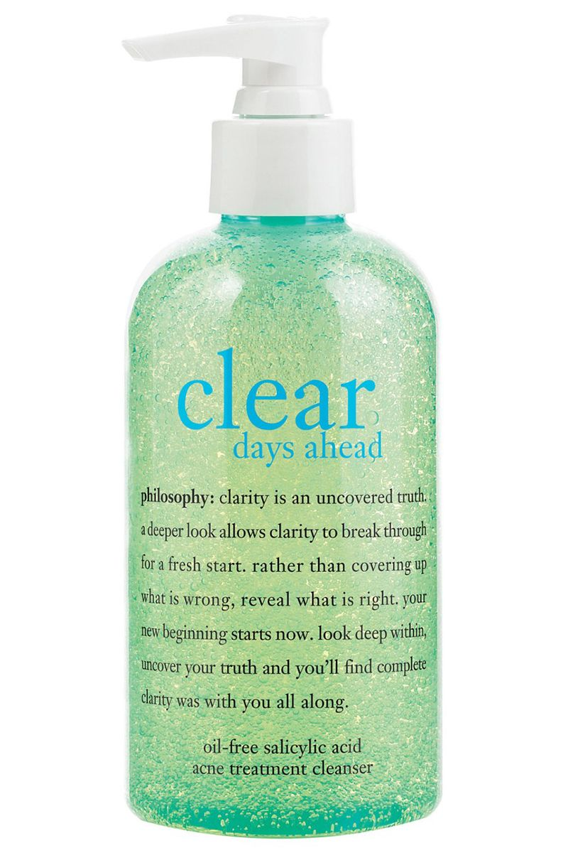 The Best Acne Products To Clear Your Skin Clean Clearing Cleanser Up 100 G