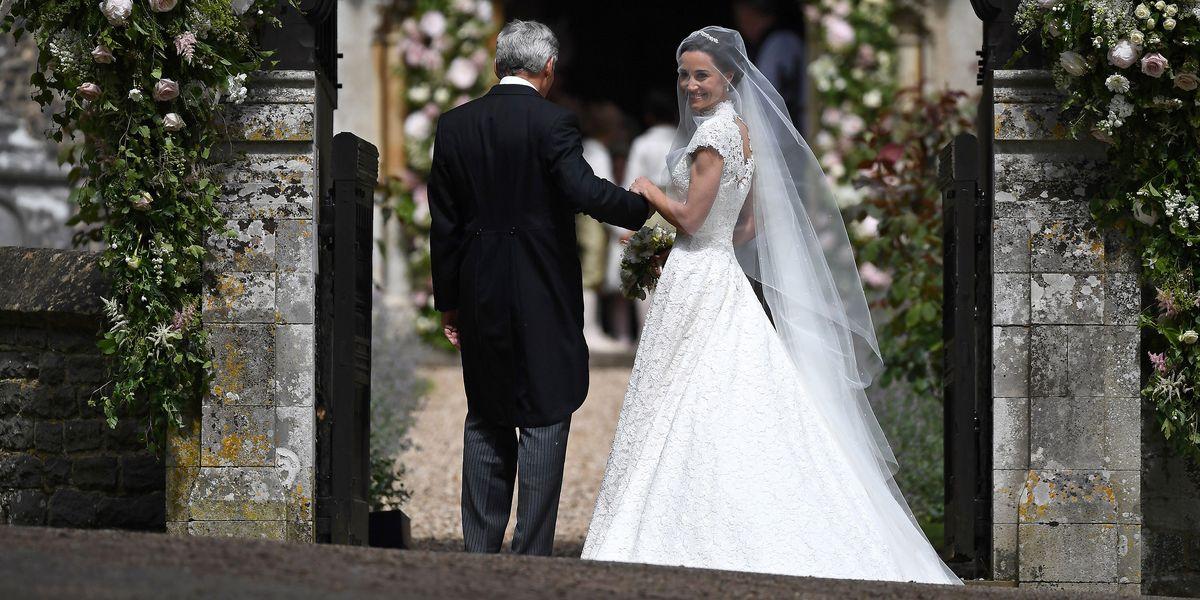 151aa4154 Pippa Middleton Wedding Dress News - See Pippa Middleton's Giles Deacon  Wedding Gown