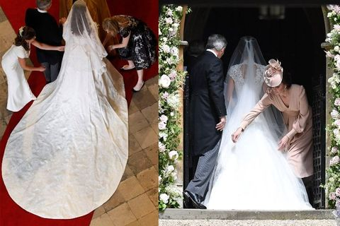 Pippa middleton s wedding dress revealed giles deacon for Giles deacon wedding dresses