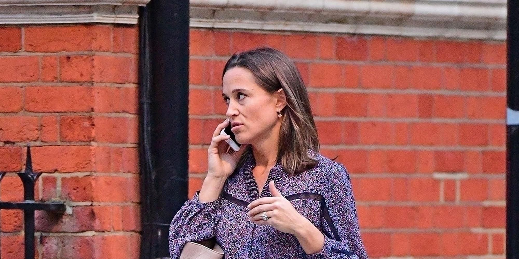 *EXCLUSIVE* Pippa Middleton spotted shopping in Chelsea