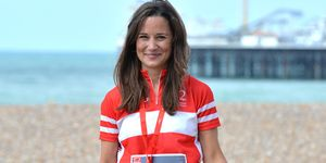 Pippa Middleton Finishes London To Brighton Bike Ride For British Heart Foundation