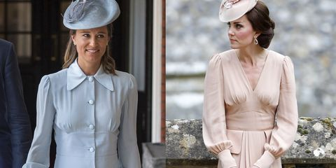 53e9530565d61 Pippa Middleton Channeled the Outfit Kate Wore To Her Wedding