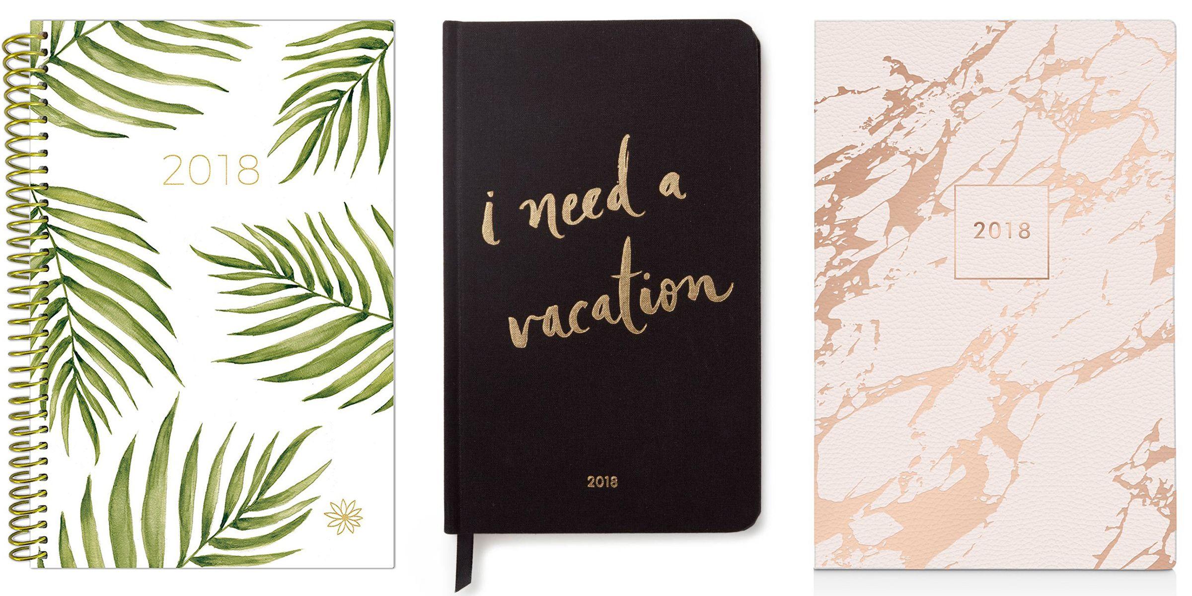 Calendar Planner Target : Best 2018 planners and calendars stylish agenda notebooks for 2018