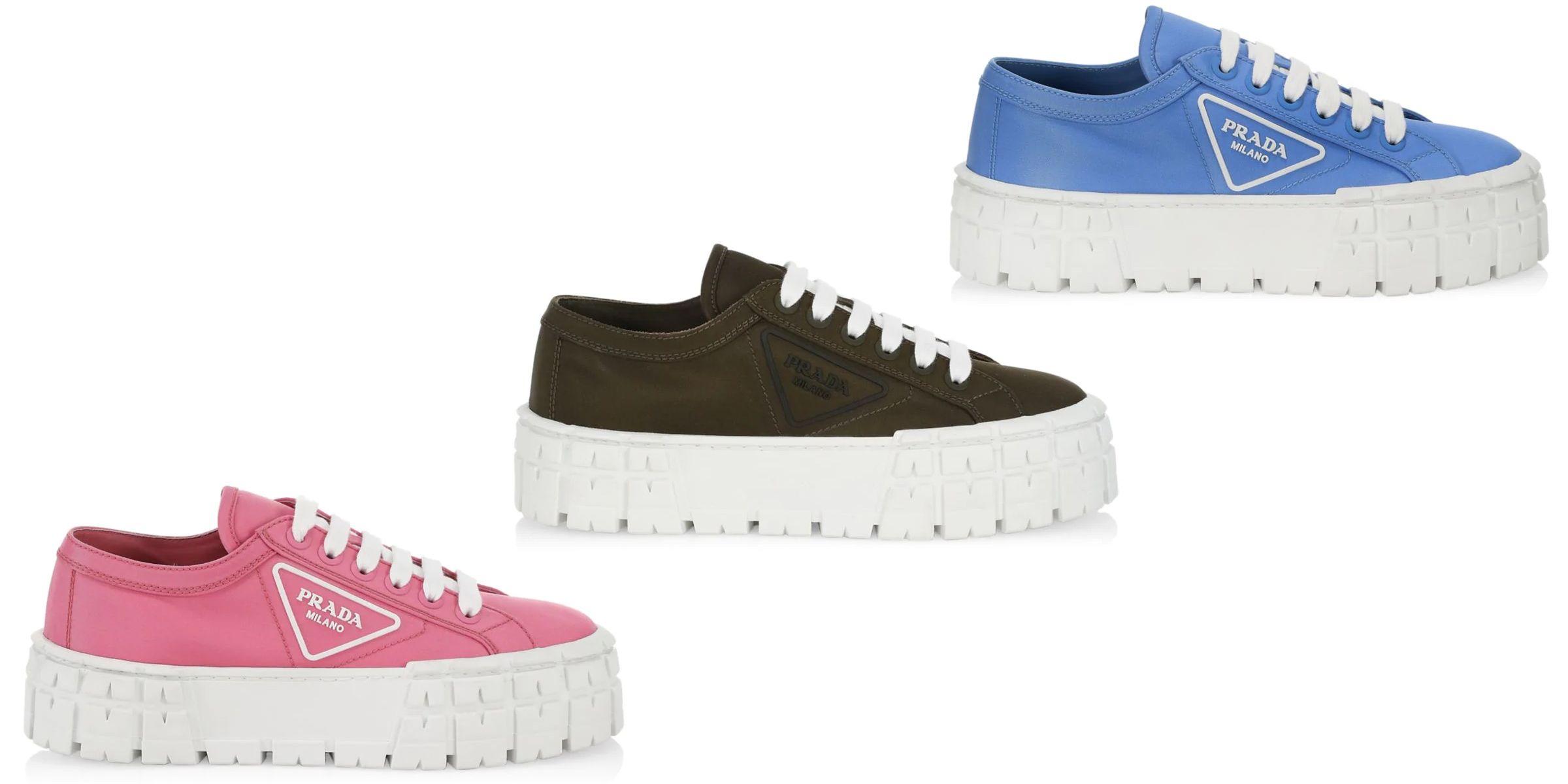 How BAZAAR: Prada Lugsole Platform Sneakers