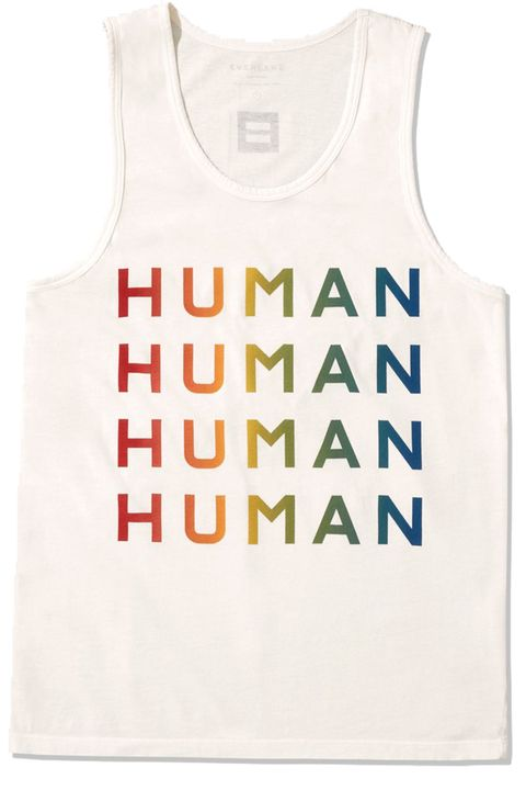 White, Clothing, Product, Text, Font, T-shirt, Top, Sleeveless shirt, Active tank, Outerwear,