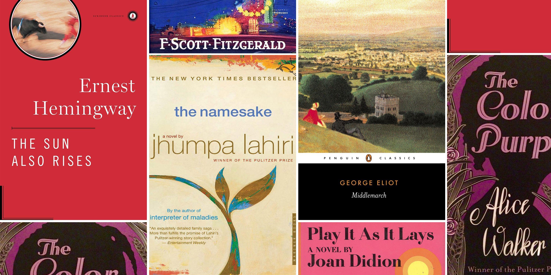 book list  - Magazine cover
