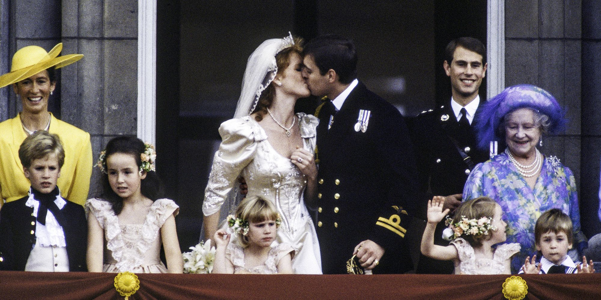 In Photos The 1986 Royal Wedding Of Prince Andrew And Sarah Ferguson