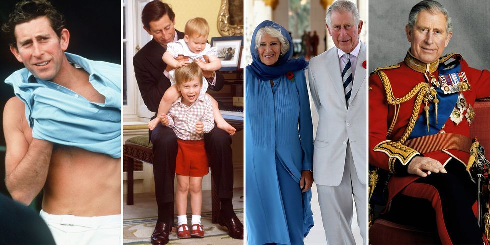 Prince Charles' Life in Photos