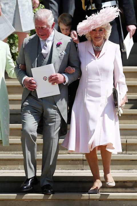 9a95265d79 Prince Charles And Duchess Camilla Arrive At Meghan Markle And ...