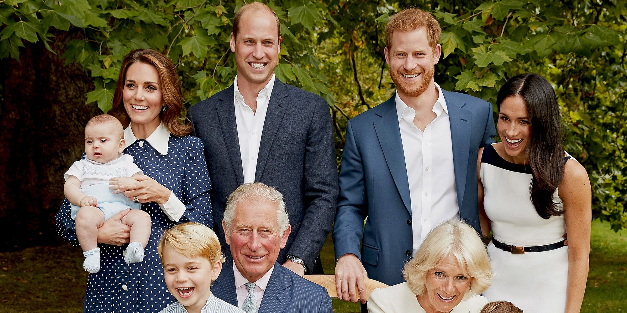 Why the royal family is laughing in prince charles birthday portraits