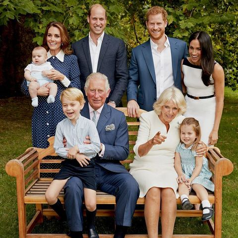 royal family prince charles 70th birthday portrait