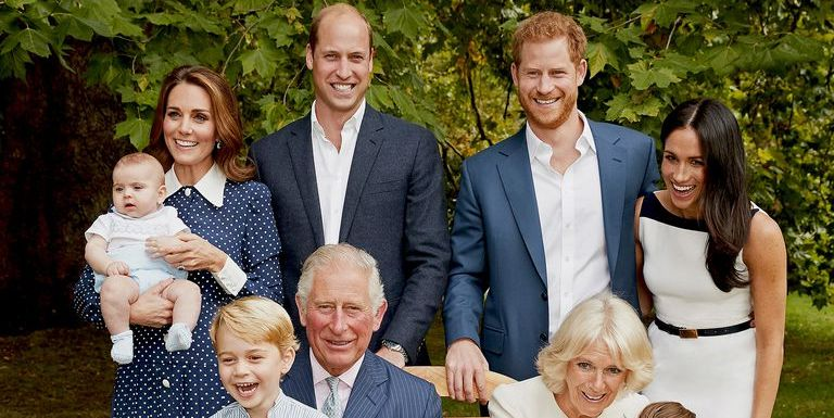 Prince Louis Grabs Prince Charles' Face in Adorable Outtakes from 70th Birthday Portraits