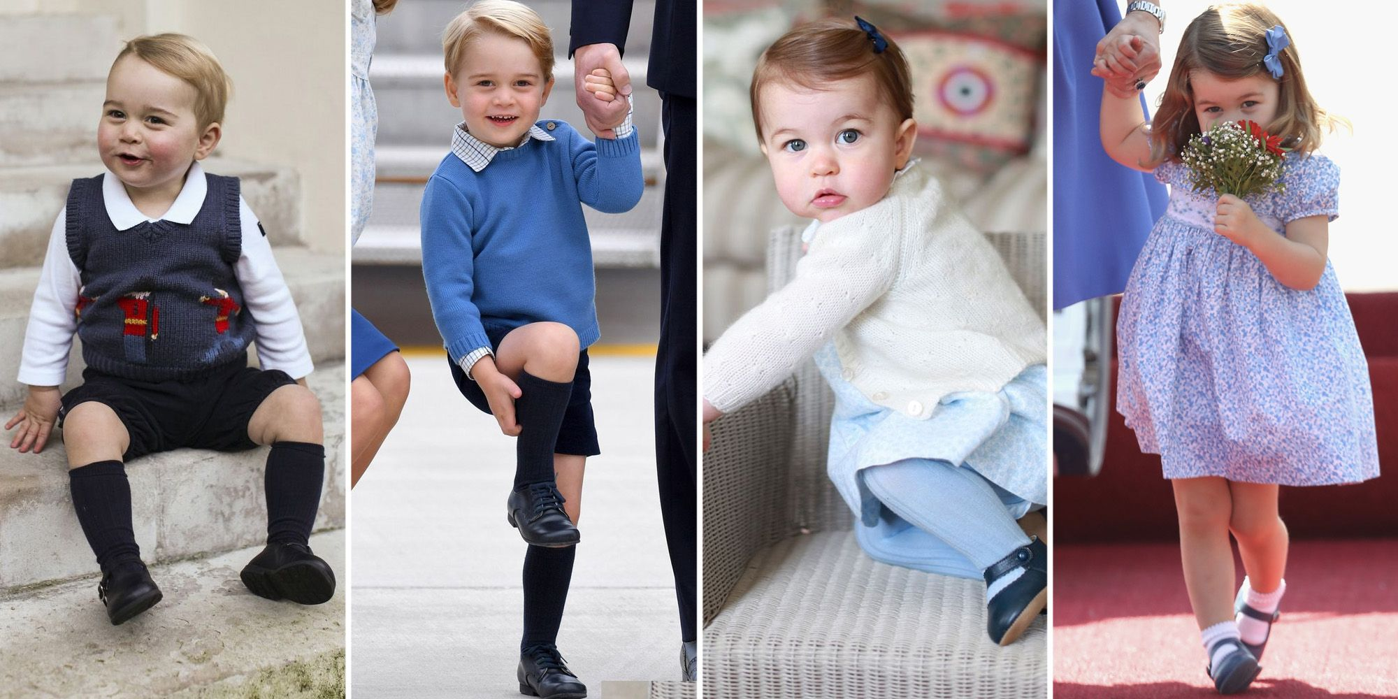 Prince George And Princess Charlotte S Cutest Moments