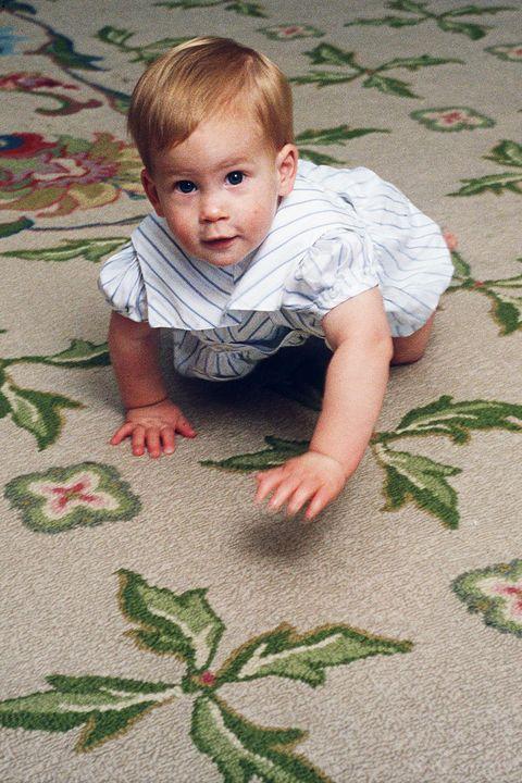 Child, Leaf, Toddler, Skin, Baby, Plant, Grass, Textile, Smile, Floor,