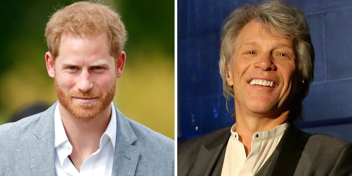 Prince Harry and Bon Jovi Join Forces for Recording Session at Abbey Road Studios
