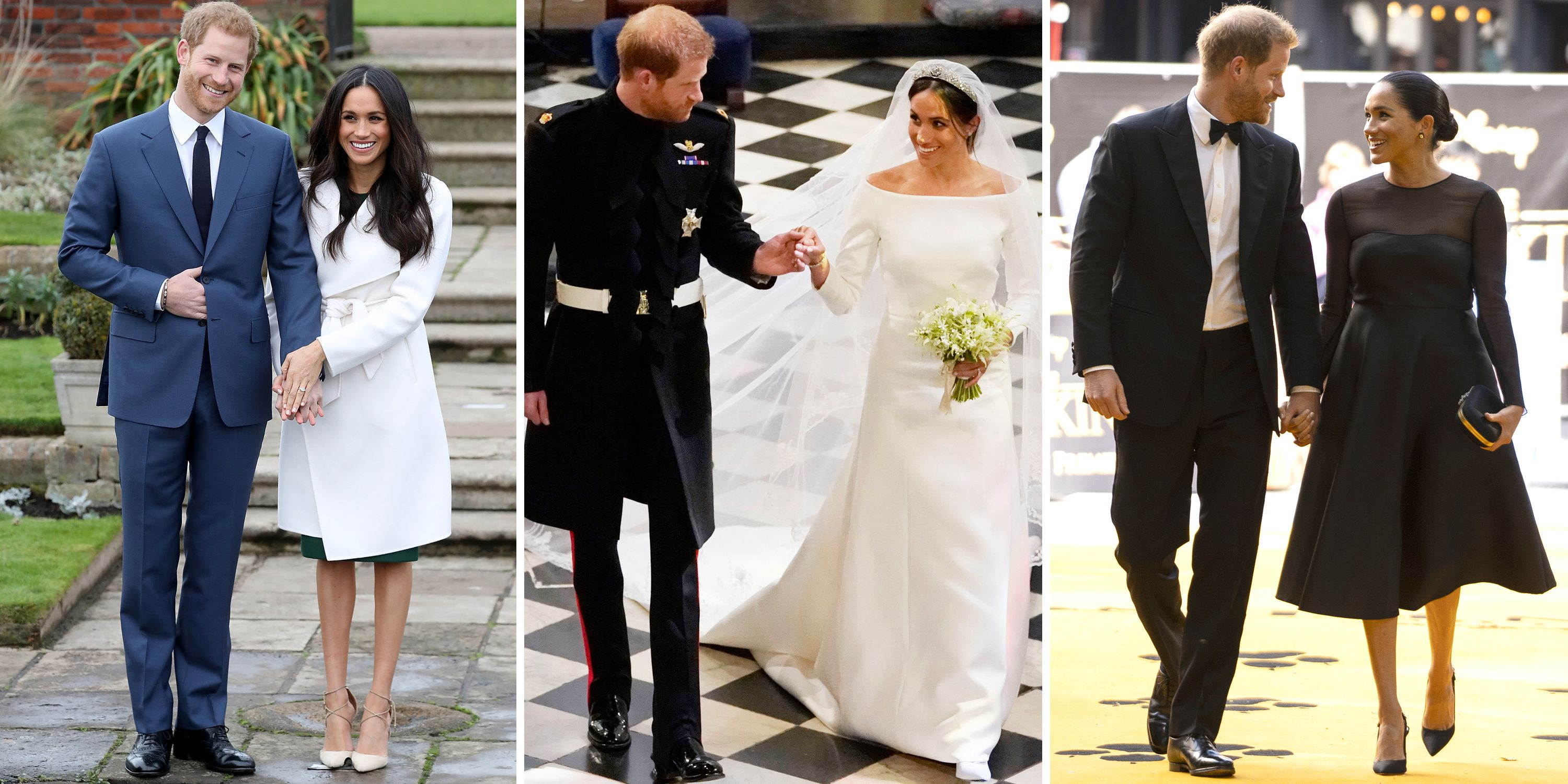Prince Harry and Meghan Markle's Sweetest Moments in Photos