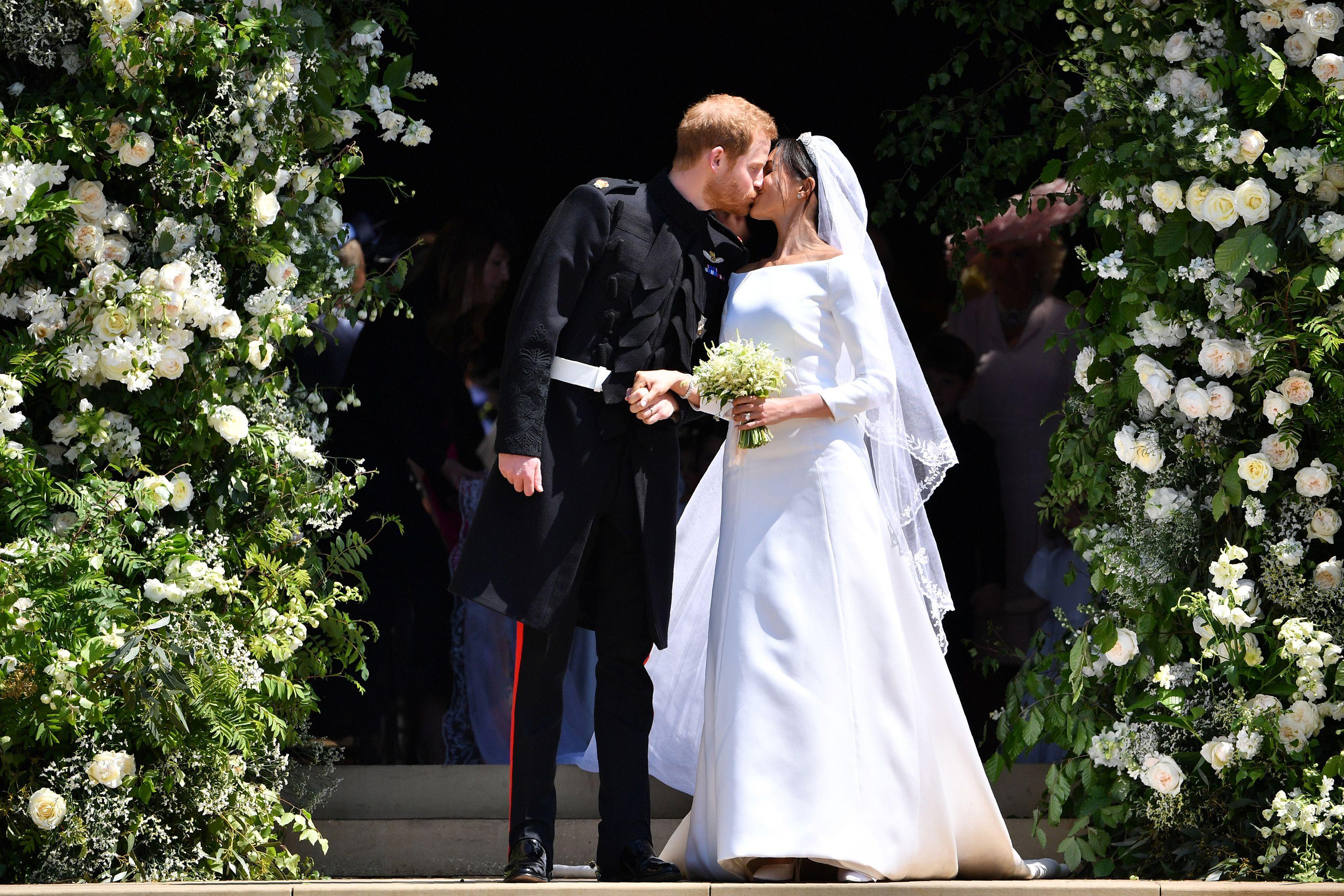 Prince harry meghan markle royal wedding images