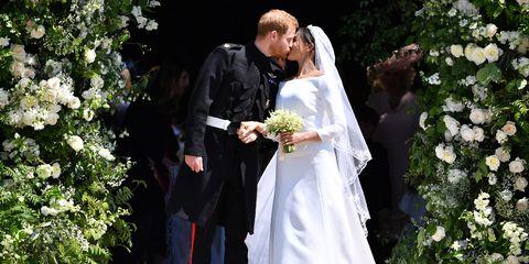 Prince Harry And Meghan Markles Royal Wedding Day