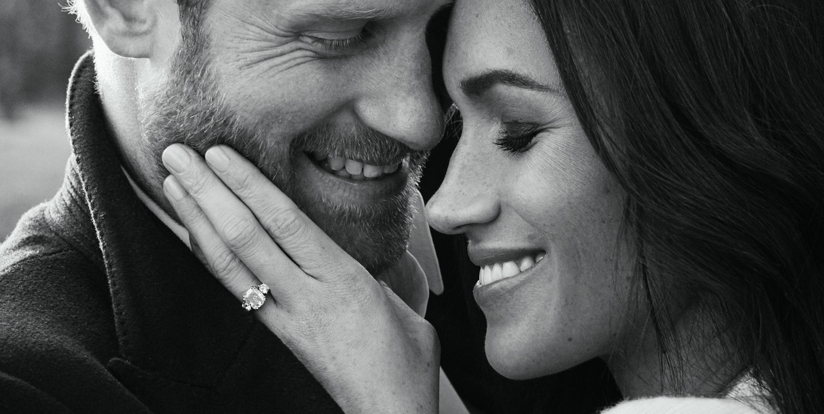 meghan markle's engagement ring