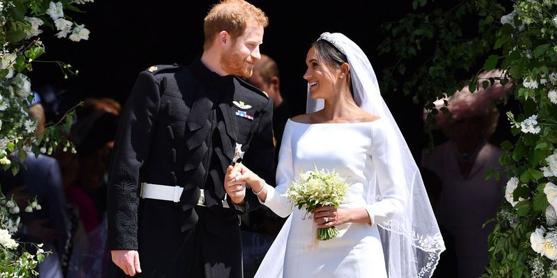 Image result for images of harry and meghan's wedding