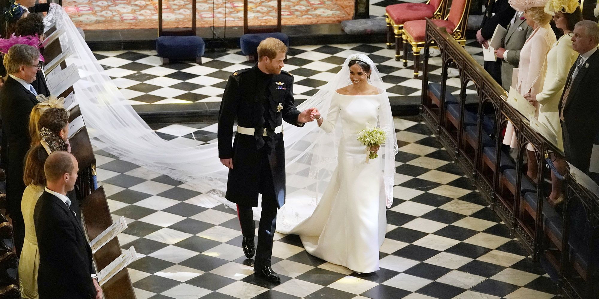 Meghan Markle Wedding Dress Details - How Givenchy\'s Clare Waight ...