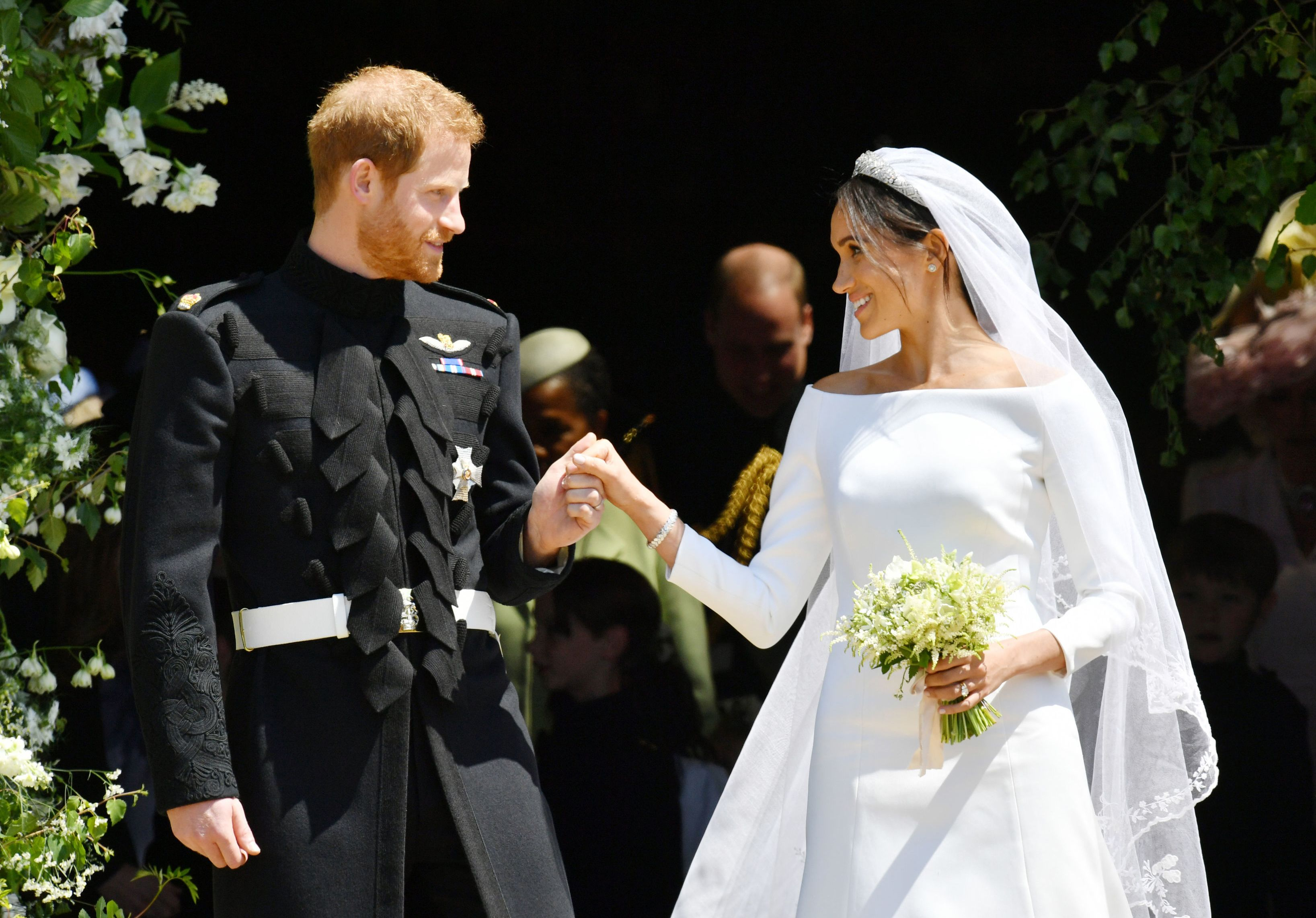 Givenchy Wedding Dress.Meghan Markle S Givenchy Wedding Dress Will Reportedly Be Displayed