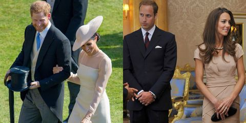 how meghan markle and prince harry s post wedding pda compares to