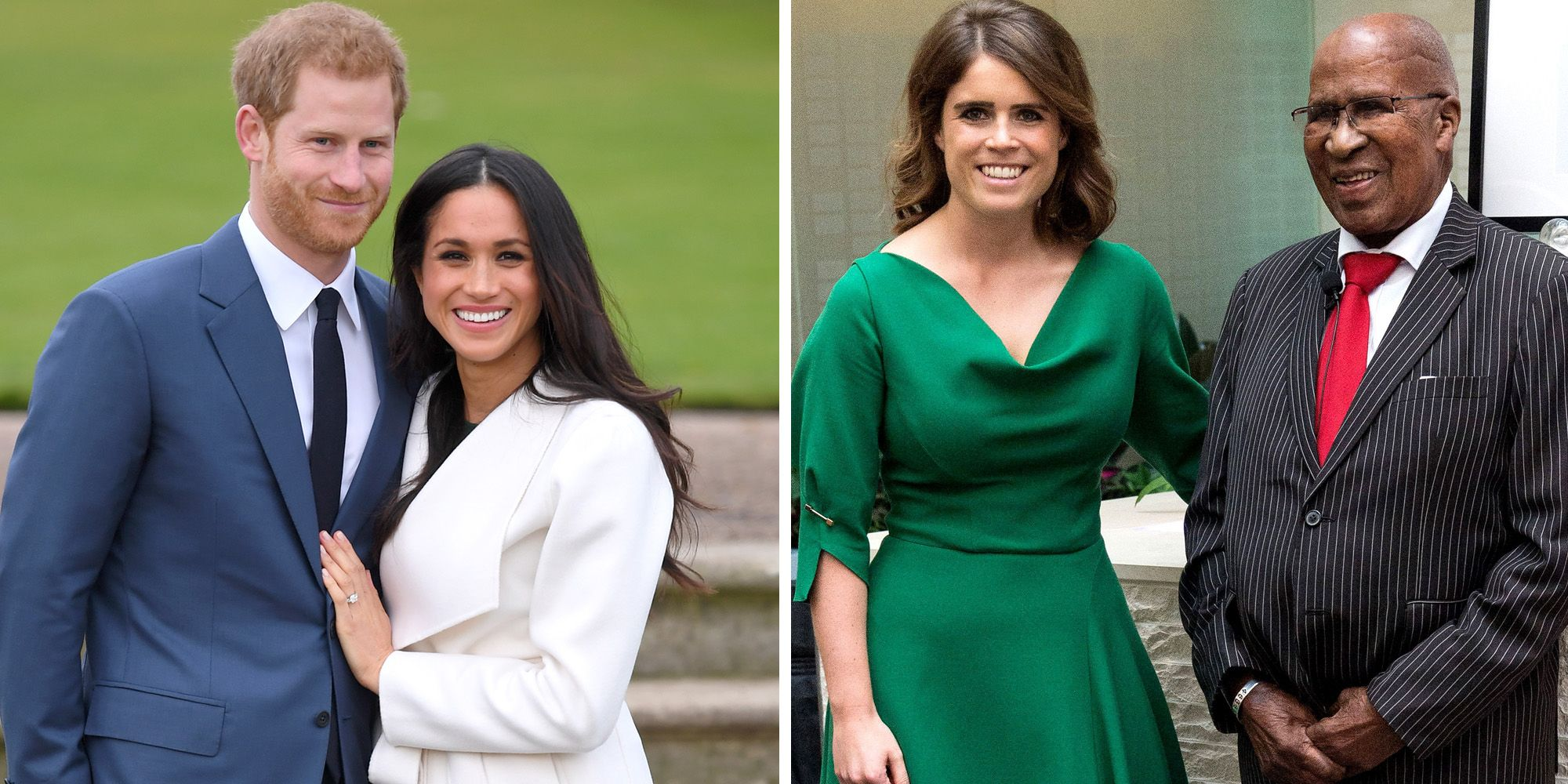 Princess Eugenie Matched Meghan Markles Shoes From Her Engagement