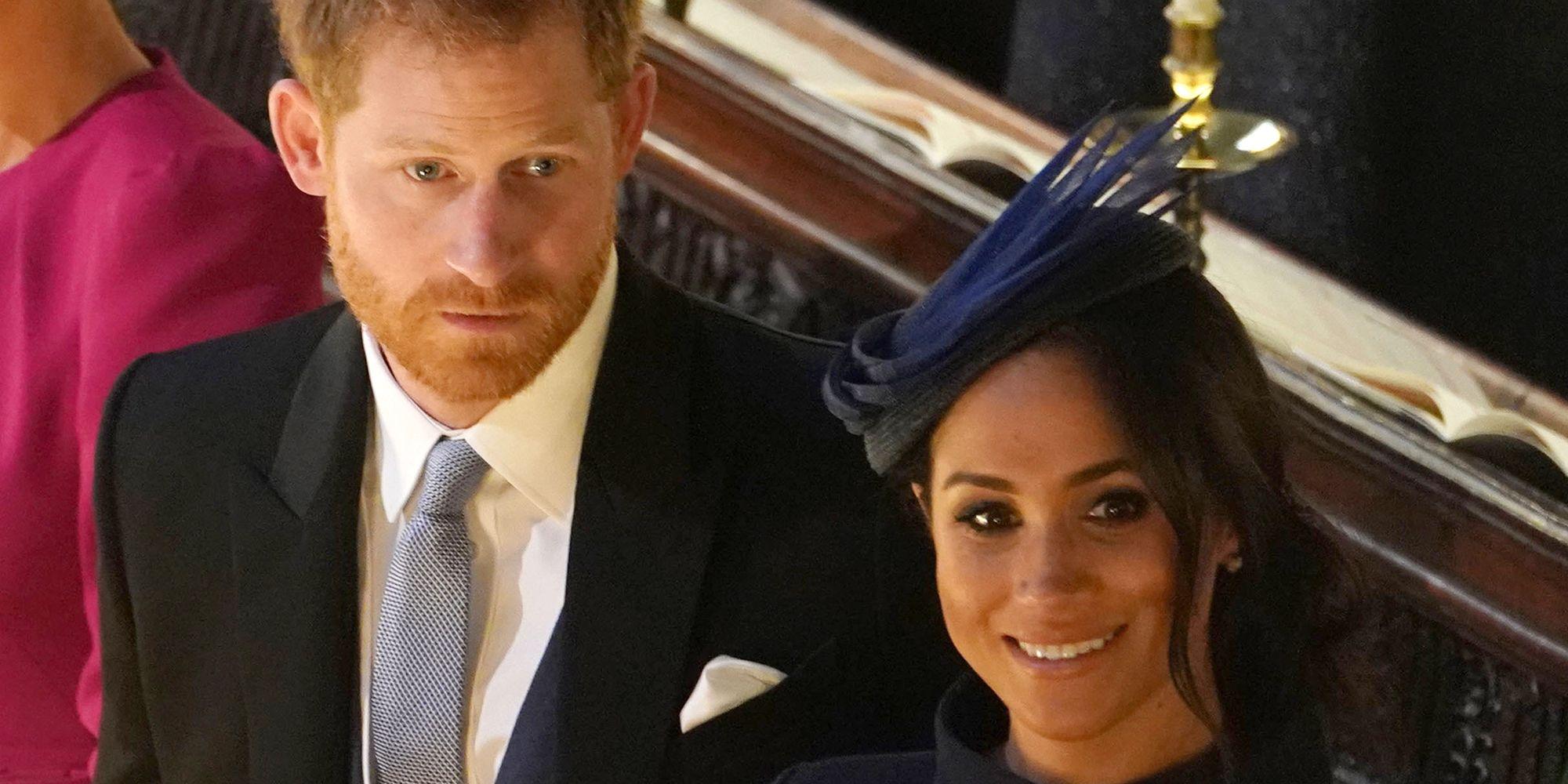 4e4659e15a5 Prince Harry And Meghan Markle Didn t Announce Pregnancy at Princess ...