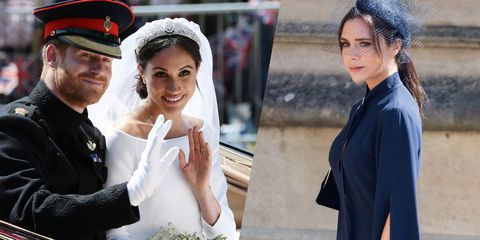 Victoria Beckham Gushes Over Prince Harry And Meghan Markles Royal