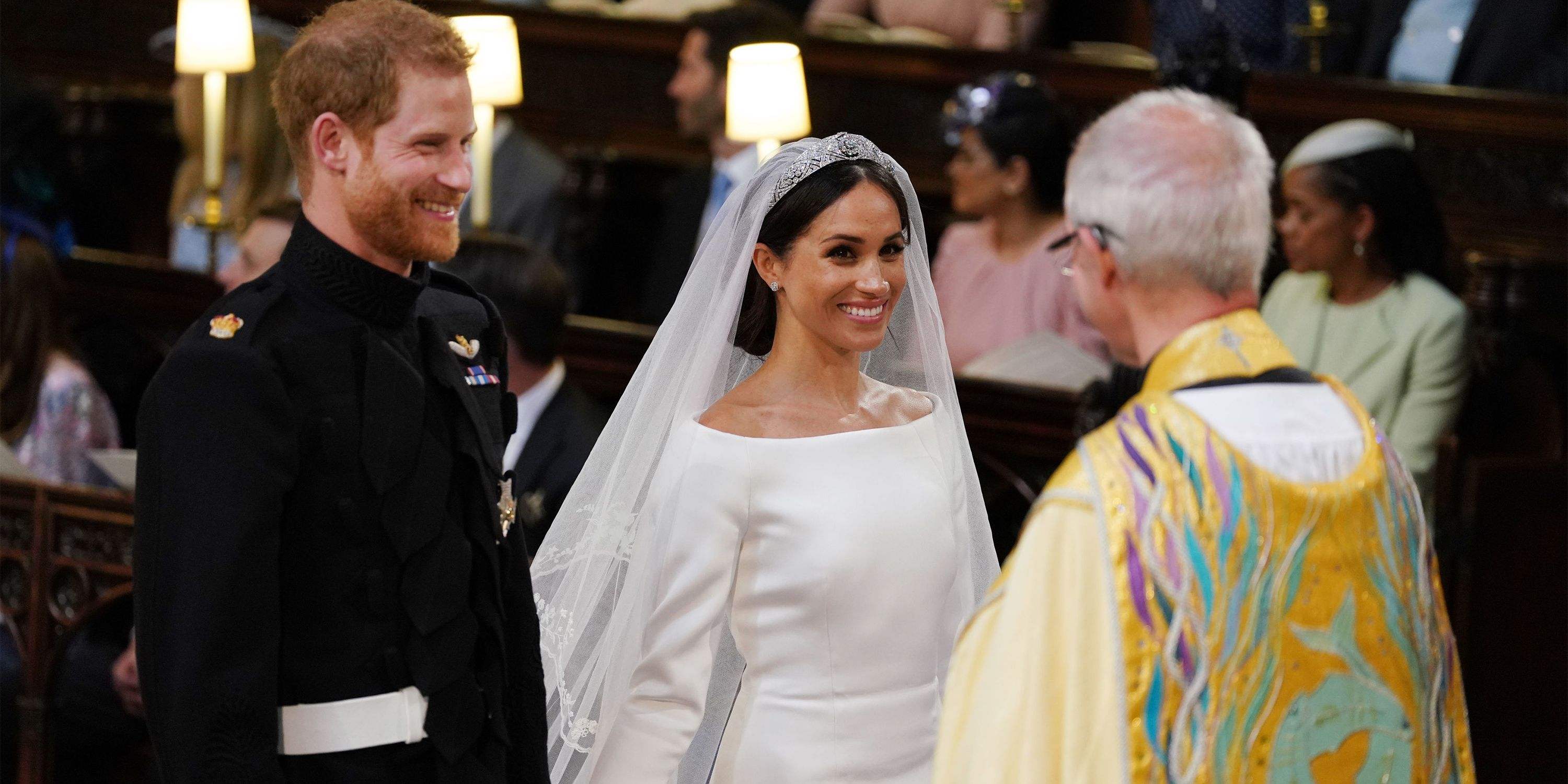 3662dfa8f70 52 Best Prince Harry and Meghan Markle Wedding Photos - Royal Wedding Recap