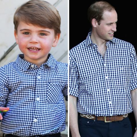 prince louis prince william twin