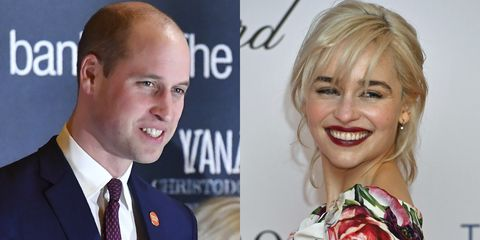 Prince william and emilia clarke meet at the centrepoint awards at prince william and emilia clarke meet at the centrepoint awards at kensington palace m4hsunfo