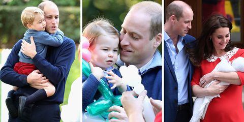 8077a08cf Prince William's Sweetest Dad Moments - Best Moments of Prince ...