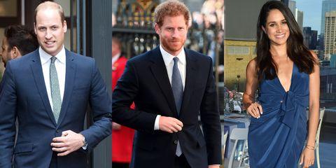 prince harry, prince william, meghan markle
