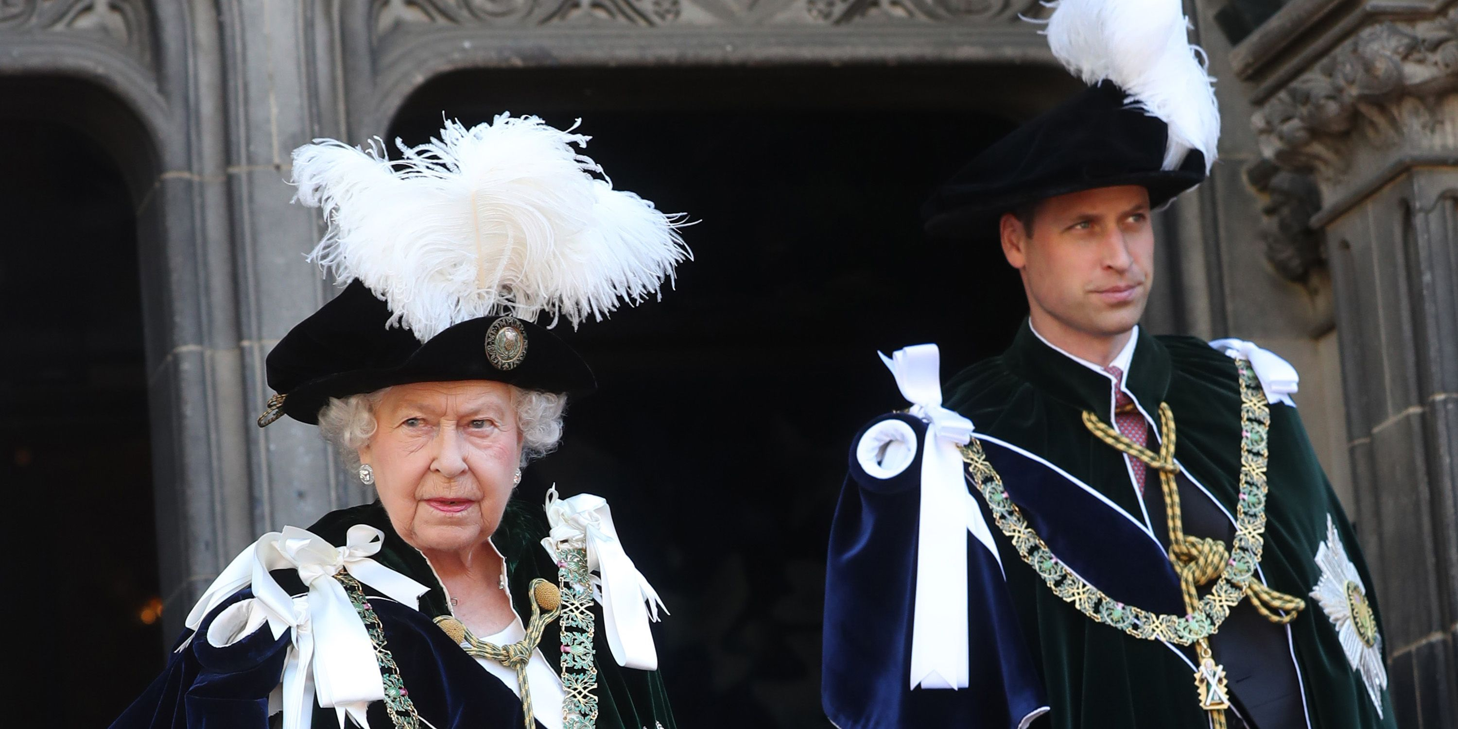 843e56e7d109 Prince William's Order of the Thistle Outfit in Scotland Historical Meaning  Explained