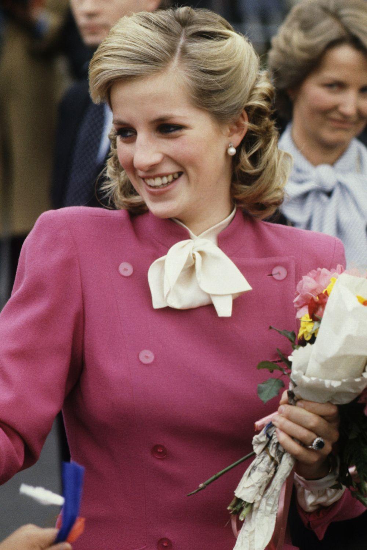 Princess Diana Hairstyles 1984 Hair