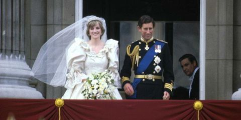 Prince Charles Lady Diana On Wedding Day