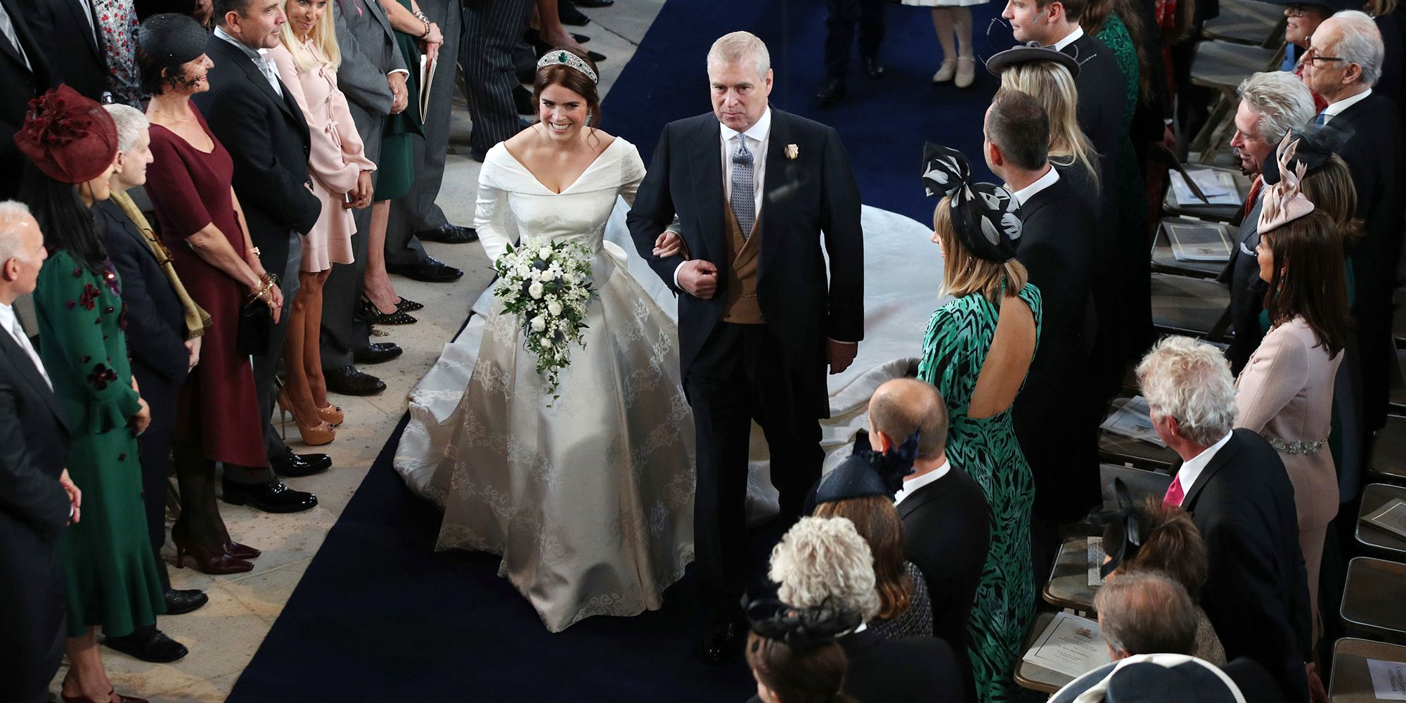 63ff53064c9f Princess Eugenie's Royal Wedding Dress by Peter Pilotto Is Stunning