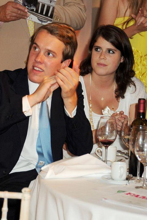 Event, Formal wear, Stemware, Suit, Wine glass,