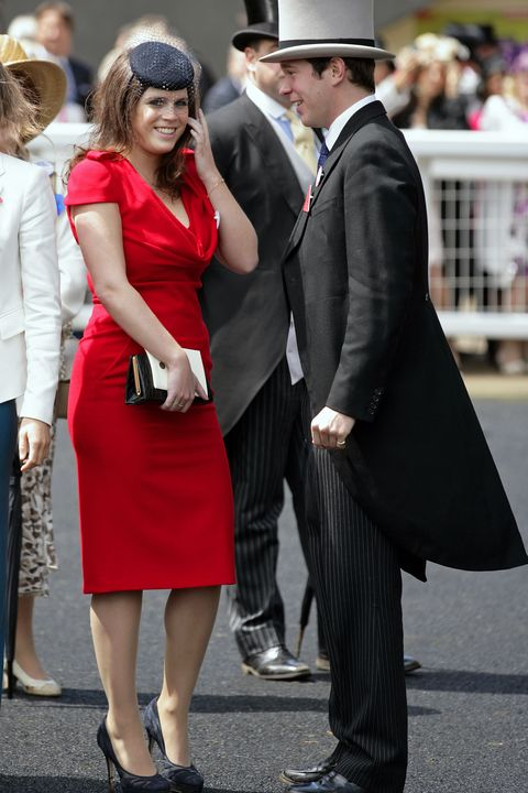 Clothing, Red, Fashion, Dress, Snapshot, Suit, Formal wear, Hat, Event, Headgear,