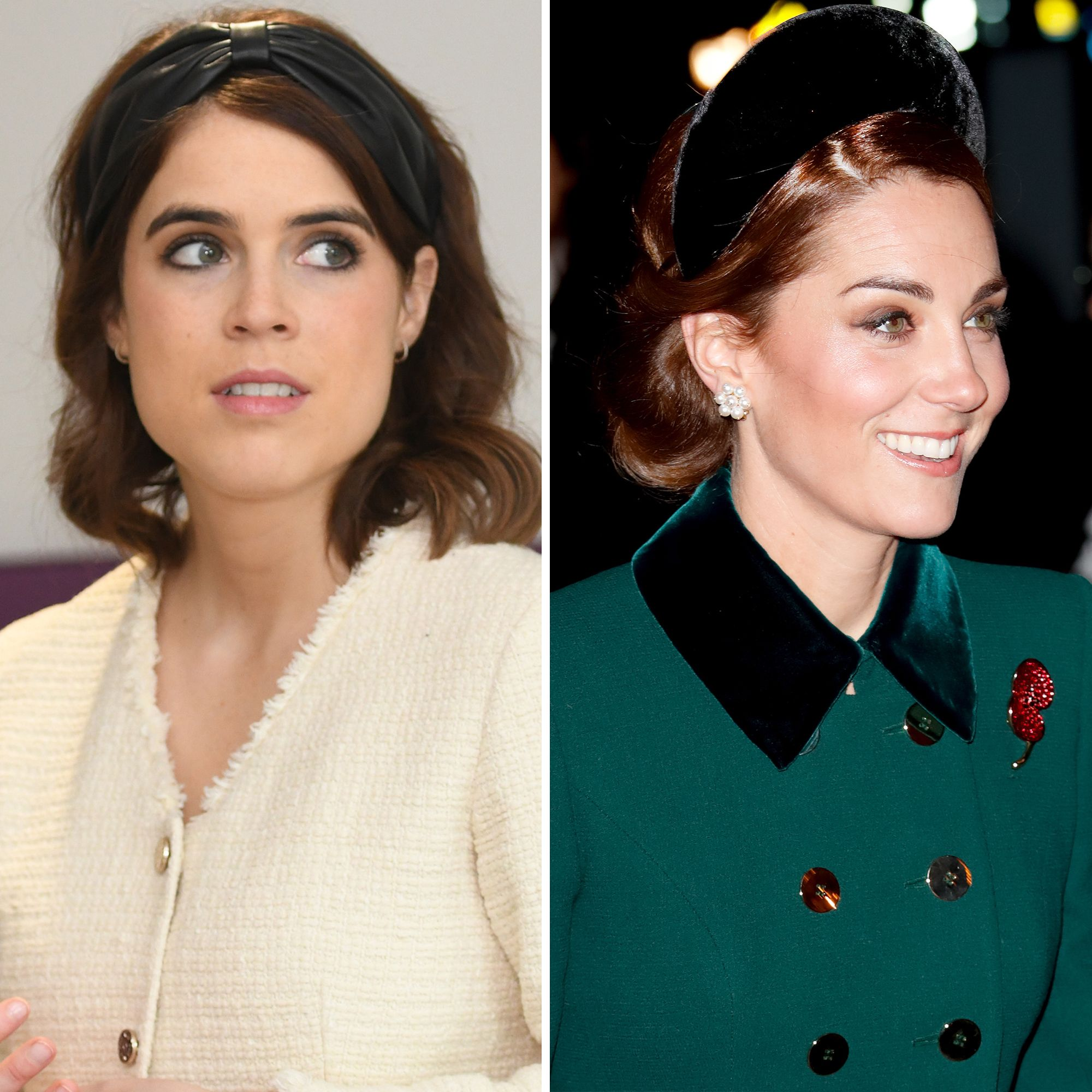 eb9f2def247 Princess Eugenie Puts Her Spin on Kate Middleton's Royal Headband Trend