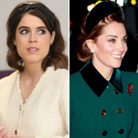 Princess Eugenie Puts Her Spin on Kate Middleton's Royal Headband Trend