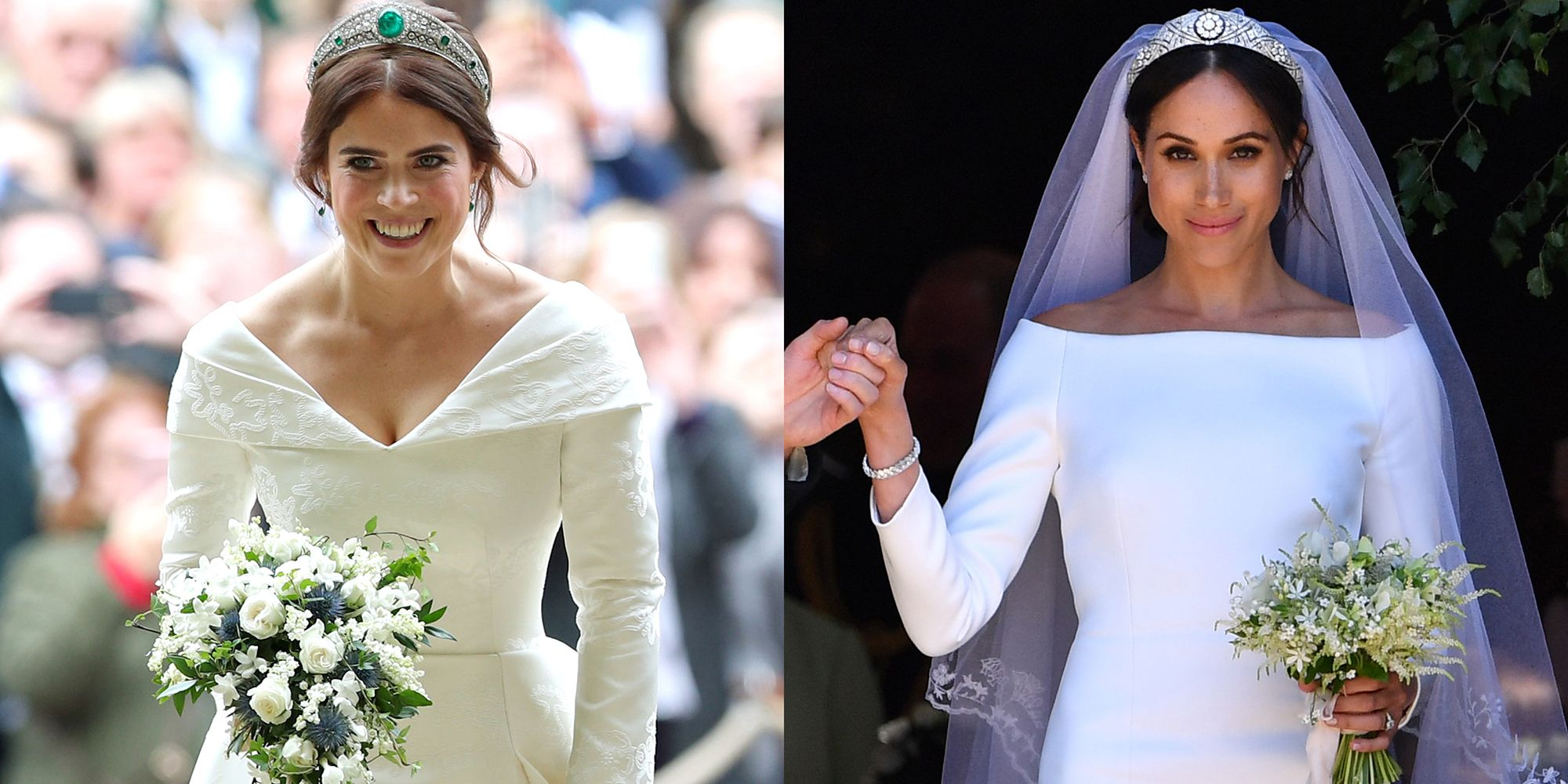 Watch Meghan Markles Givenchy Wedding Dress Is Absolutely Stunning video