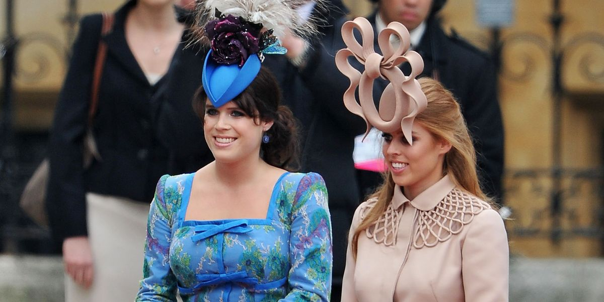 Princess Beatrice and Princess Eugenie Cried Over Backlash for Their Royal  Wedding Hats