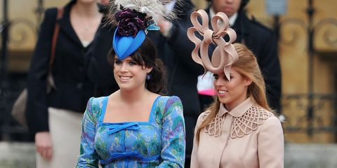 b44c3823f129d Princess Beatrice and Princess Eugenie Cried Over Backlash for Their Royal  Wedding Hats